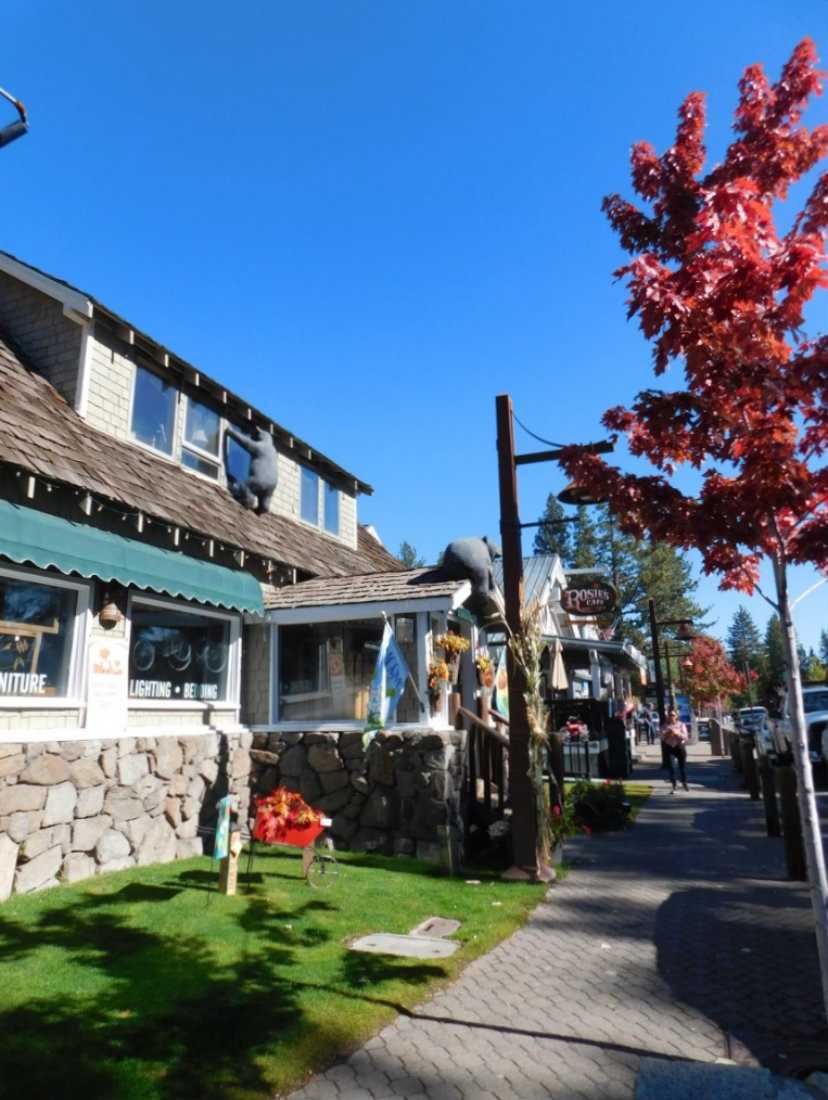 Wandering Tahoe City in Lake Tahoe during Month Twenty Eight of Digital Nomad Life