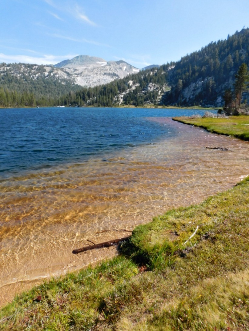 Hiking to Elizabeth Lake in Yosemite National Park during month 27 of digital nomad life