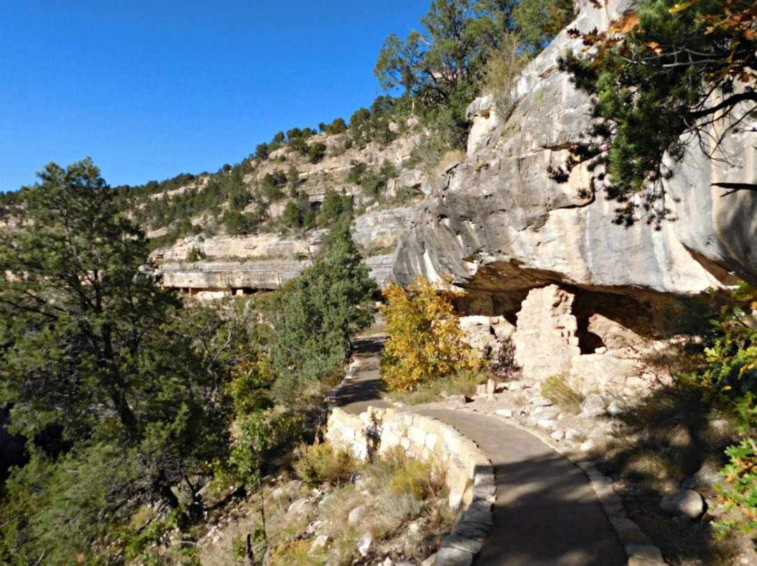Experiencing Walnut Canyon National Monument near Flagstaff, Arizona during Month Twenty Eight of Digital Nomad Life