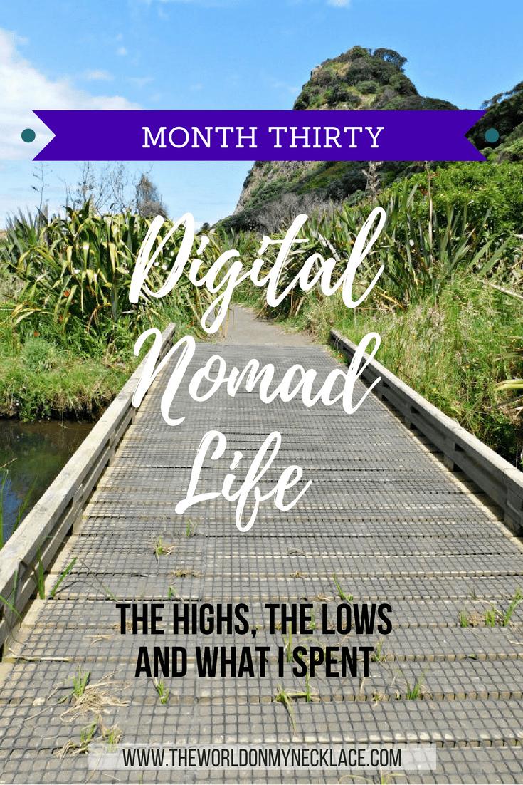Digital Nomad Life Month Thirty