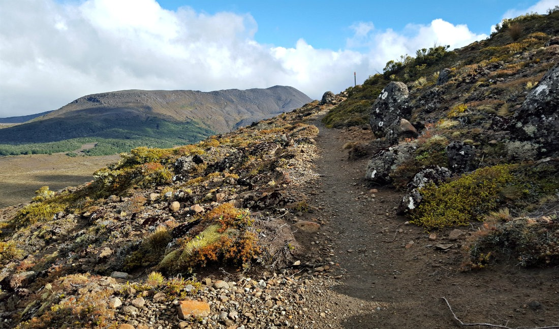 Finally great weather on the Tongariro Northern Circuit