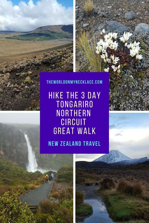 Hike the 3 day Tongariro Northern Circuit Great Walk