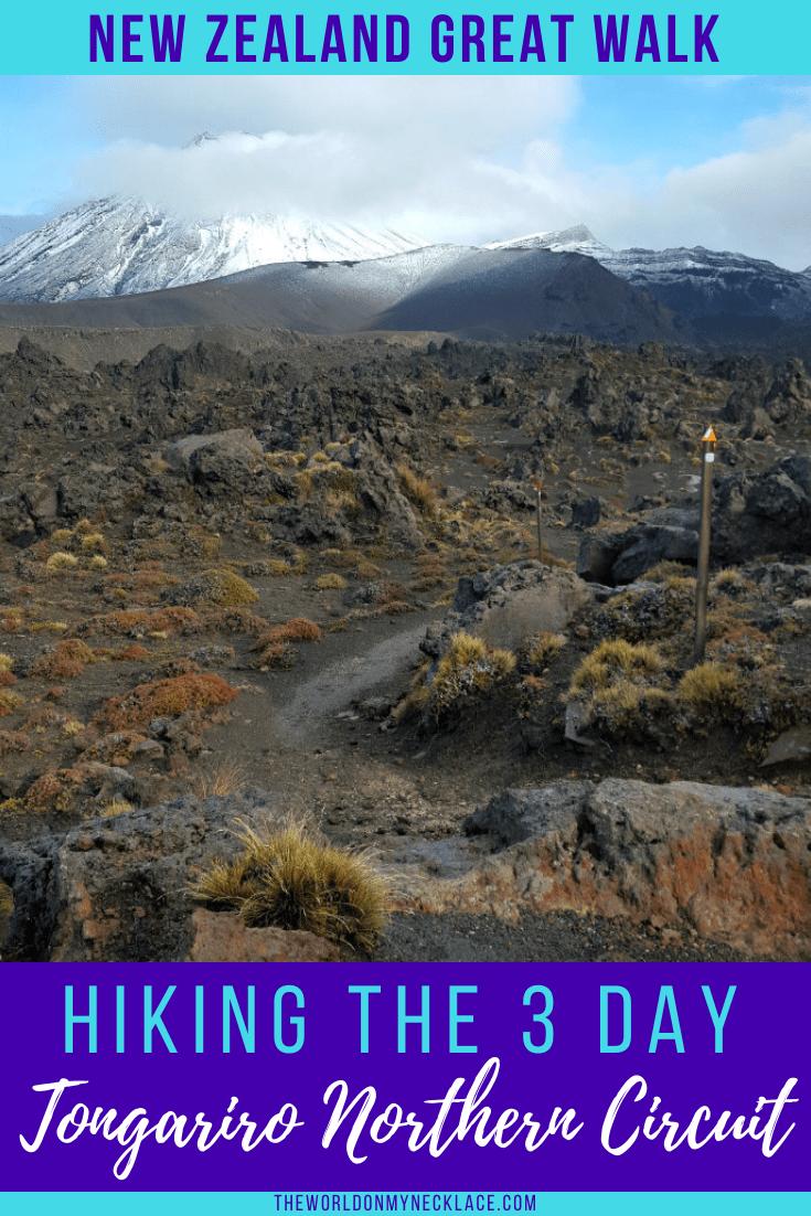 Hiking the Tongariro Northern Circuit