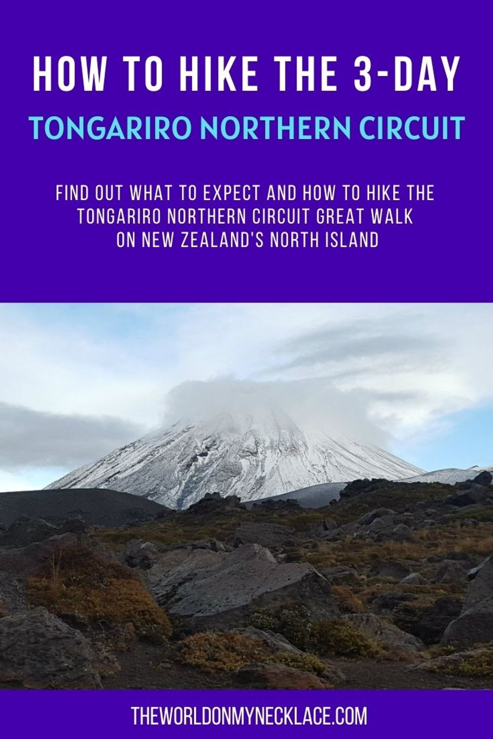 How to Hike the 3-Day Tongariro Northern Circuit in New Zealand