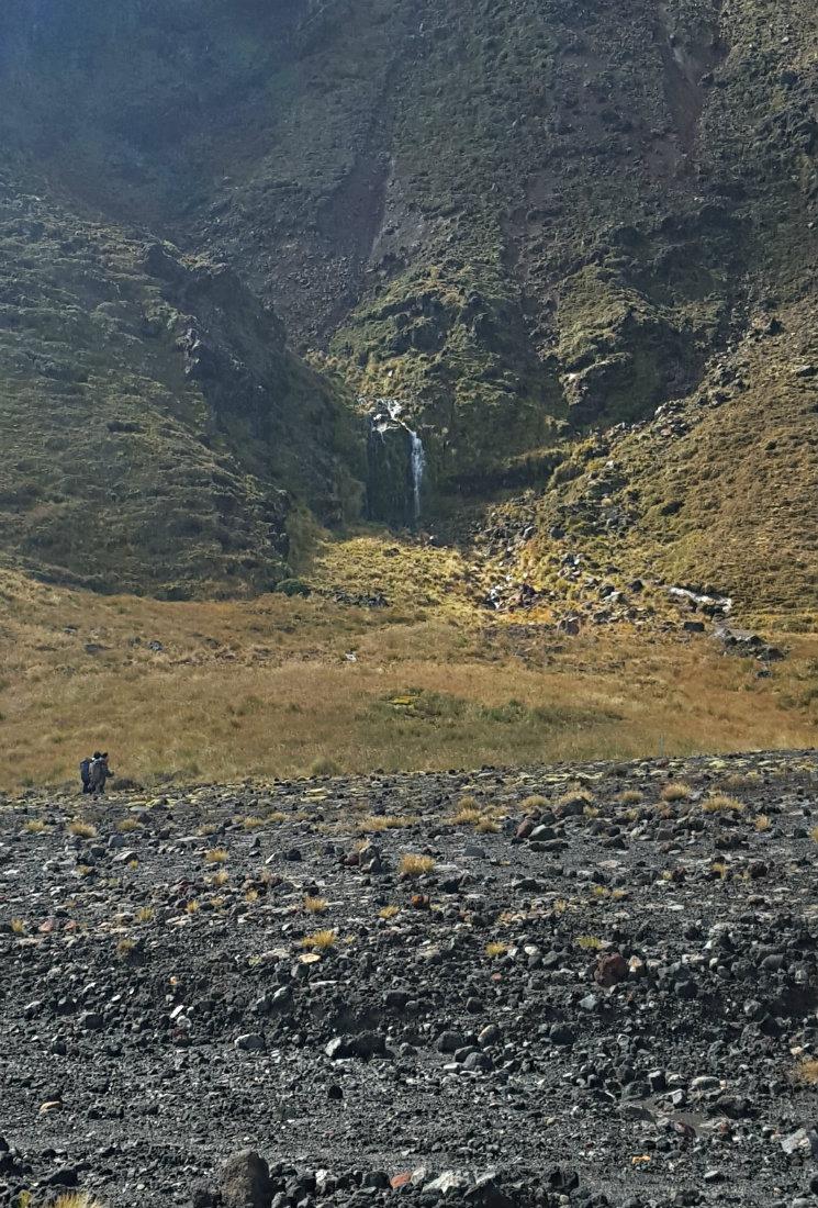 Soda Springs on the Tongariro Northern Circuit