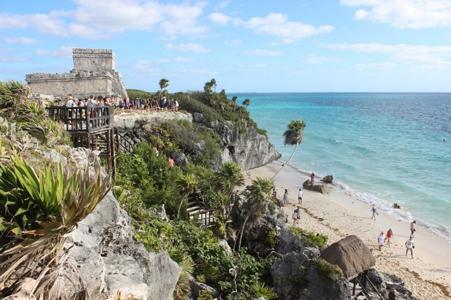Ruin hopping on Mexico's Yucatan Peninsula - a 2017 highlight of Digital Nomad Life