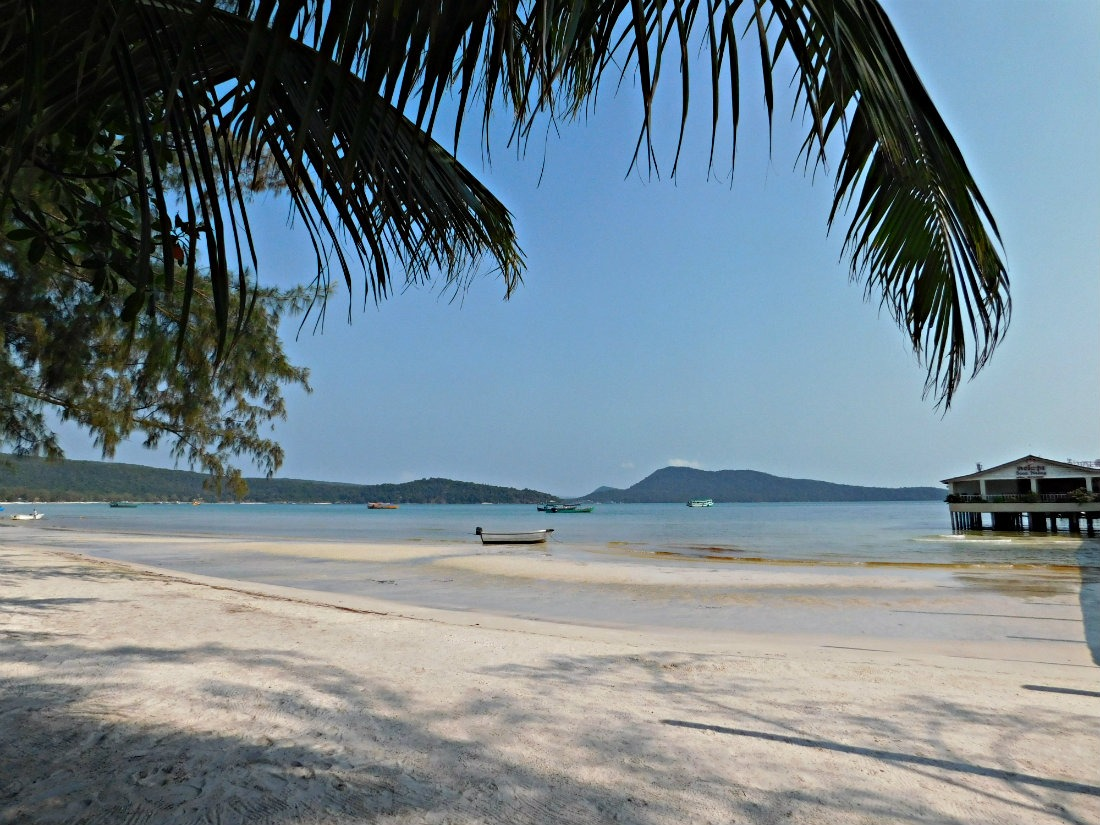 Saracen Bay on Koh Rong Sanloem in Cambodia
