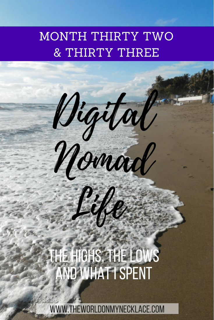 Digital Nomad Life: Month Thirty Two and Thirty Three