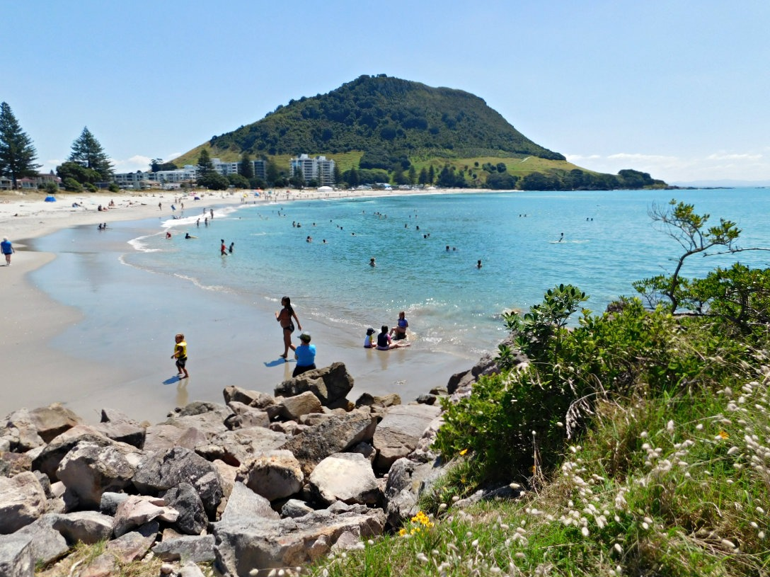 My home town of Mount Maunganui, New Zealand