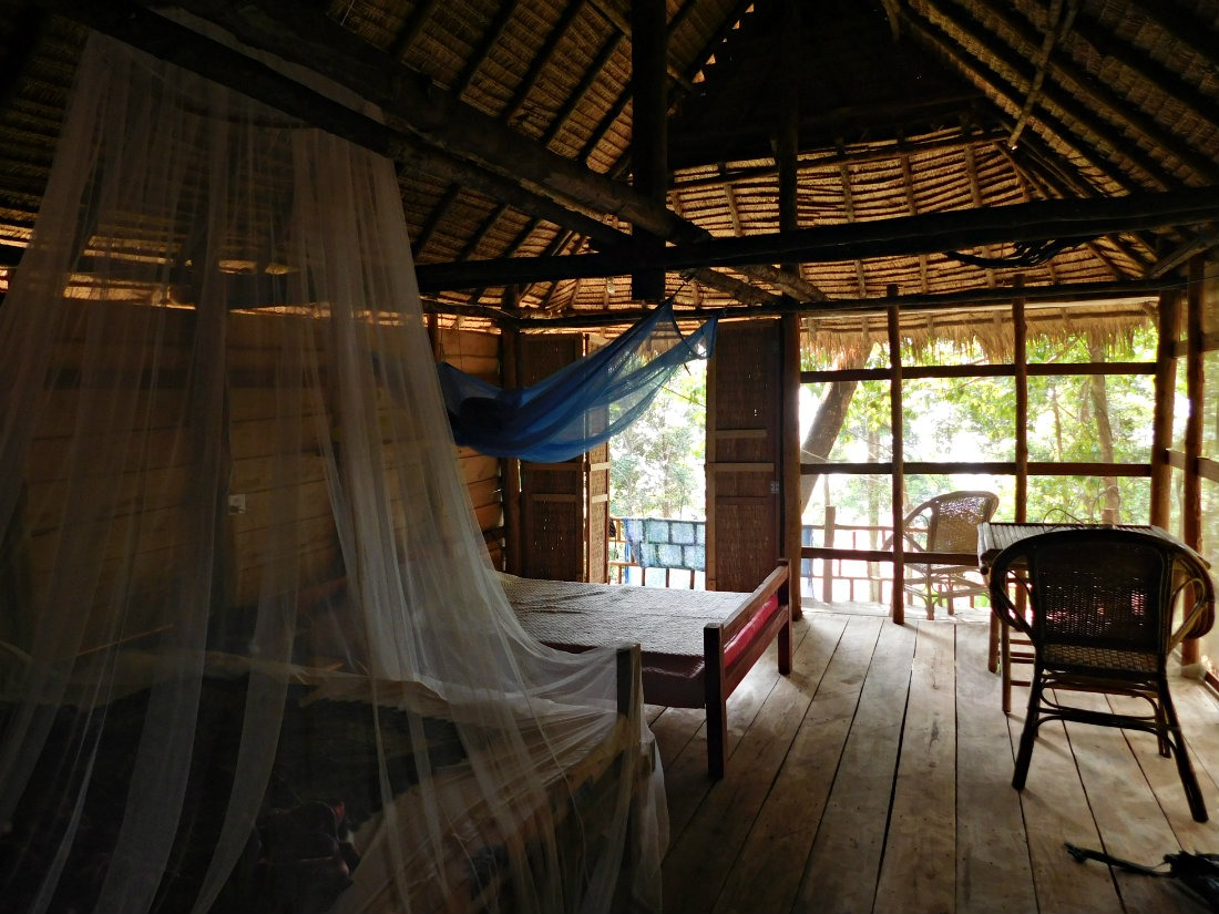 My Eco Treehouse on Koh Rong Sanloem in Cambodia