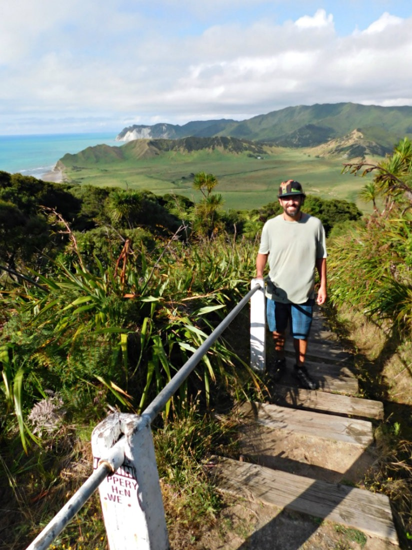 Exploring the East Cape of New Zealand during month thirty two and thirty three of Digital Nomad Life