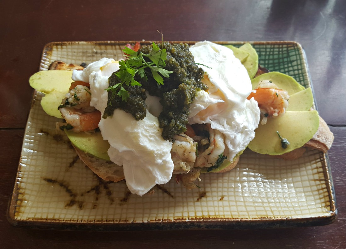 Breakfast at KAMA Cafe is one of the best things to do in Kampot