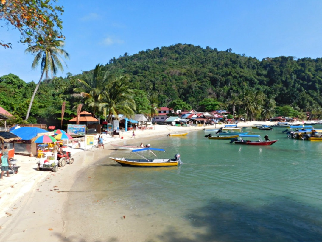 Coral Bay in the Perhentian Islands in the shoulder season