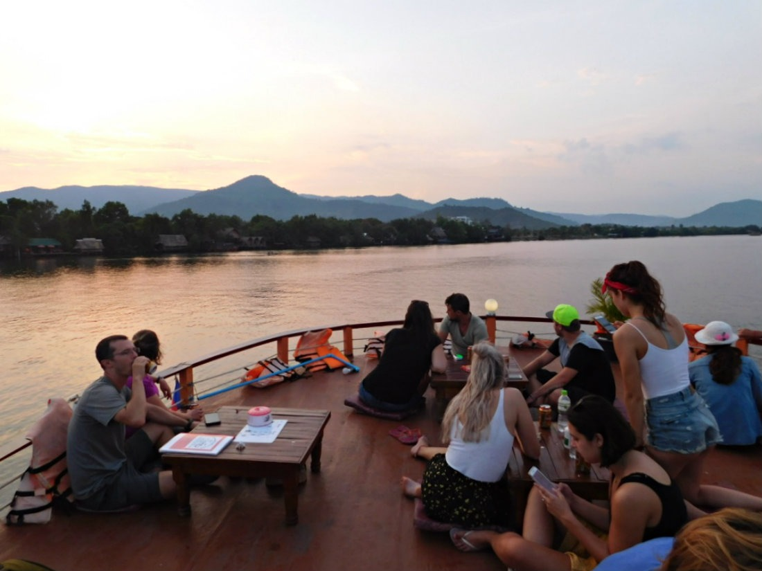 Going on a firefly river cruise is one of the best things to do in Kampot, Cambodia