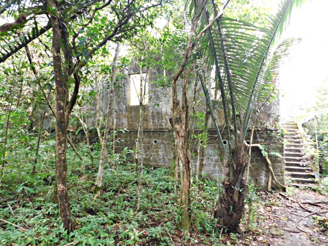 Exploring ruins in Bokor Hill Station - one of the best things to do in Kampot