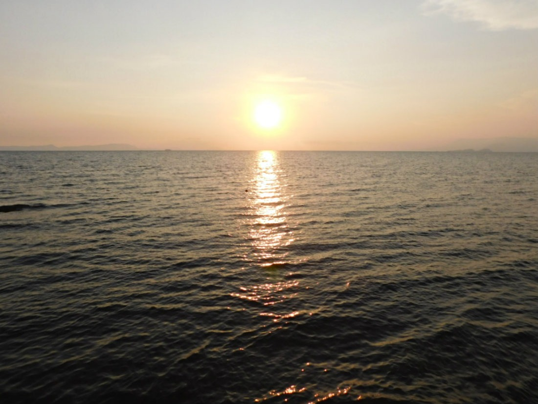 Watching the sunset in Kep - one of the best things to do in Kampot