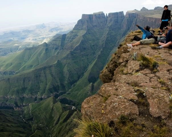 The Drakensberg Mountains of South Africa