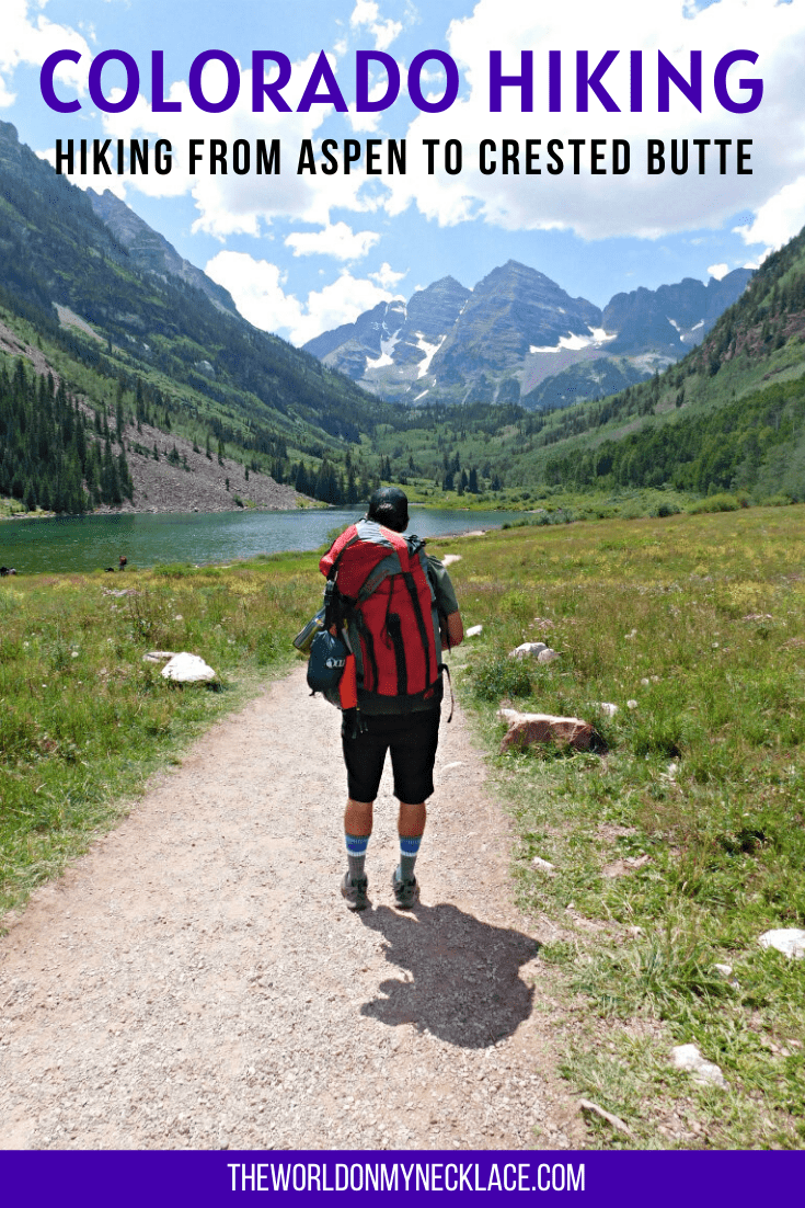 Hike Aspen to Crested Butte in Colorado