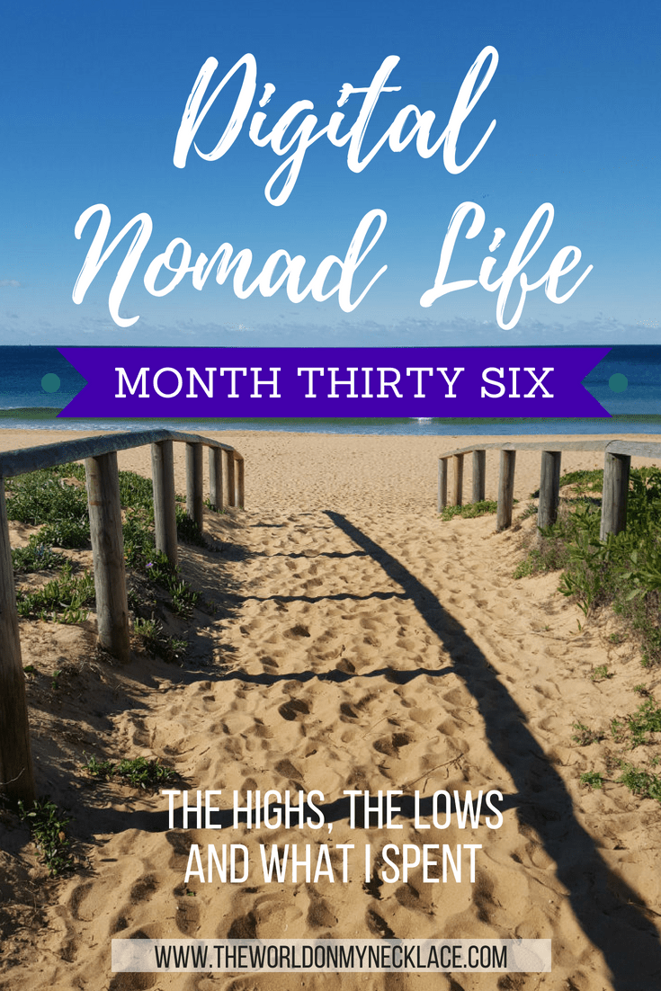 Digital Nomad Life Month Thirty Six