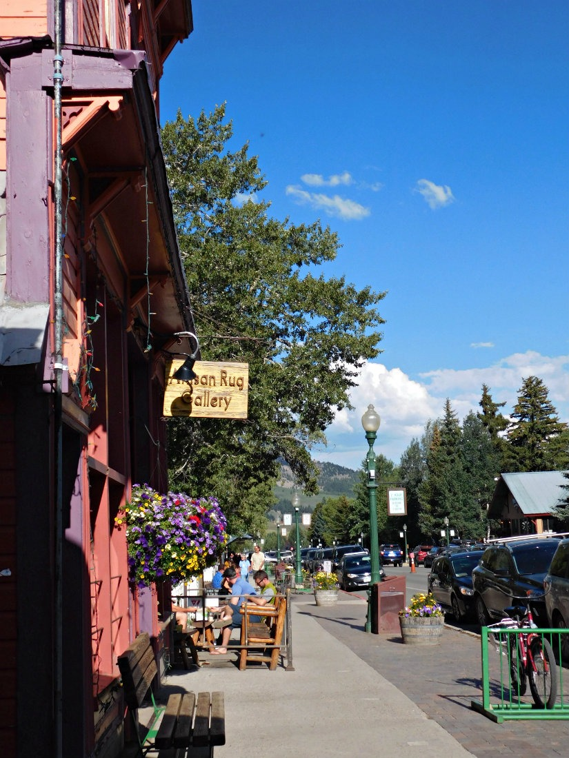 Crested Butte - the end point for the hike from Aspen to Crested Butte in Colorado