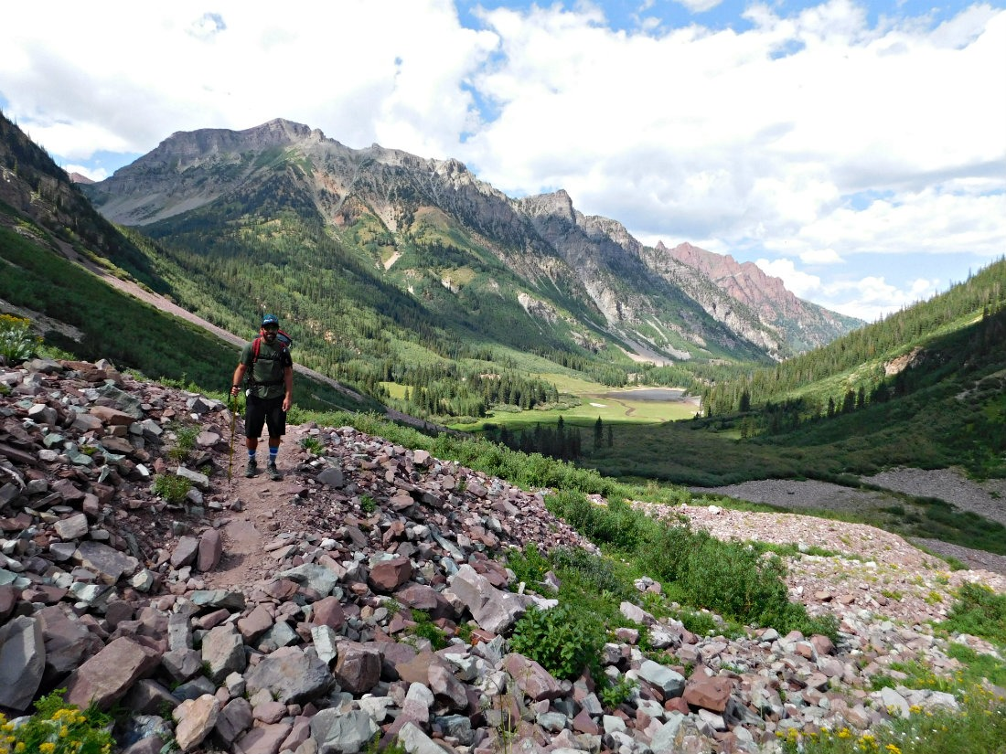 Hiking in the mountains - part of any good Colorado Road Trip