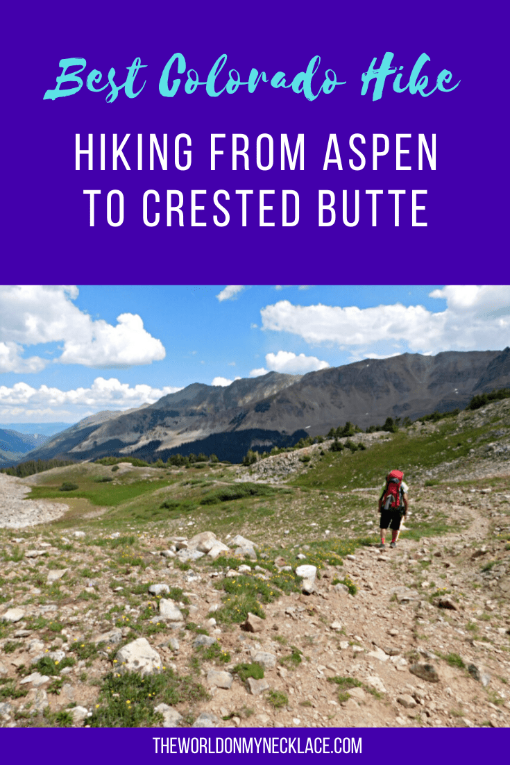 Hike from Aspen to Crested Butte