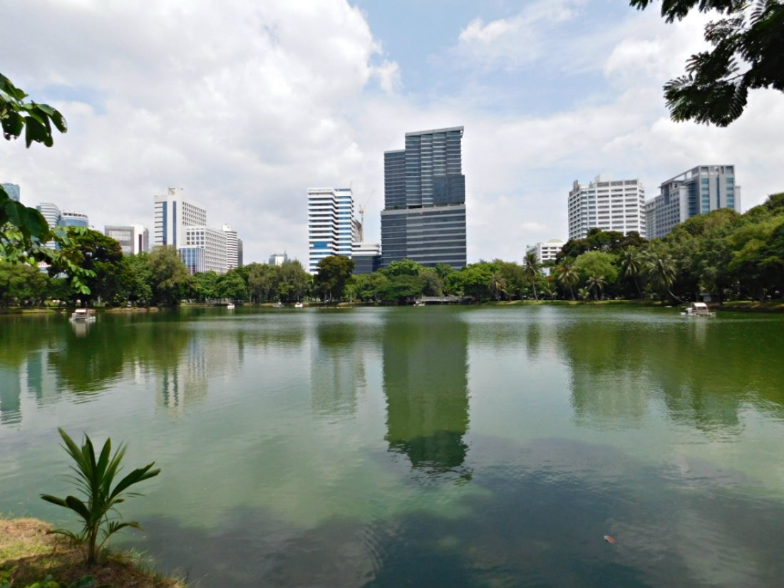Exploring Lumpini Park in Bangkok - a highlight of month thirty six of digital nomad life