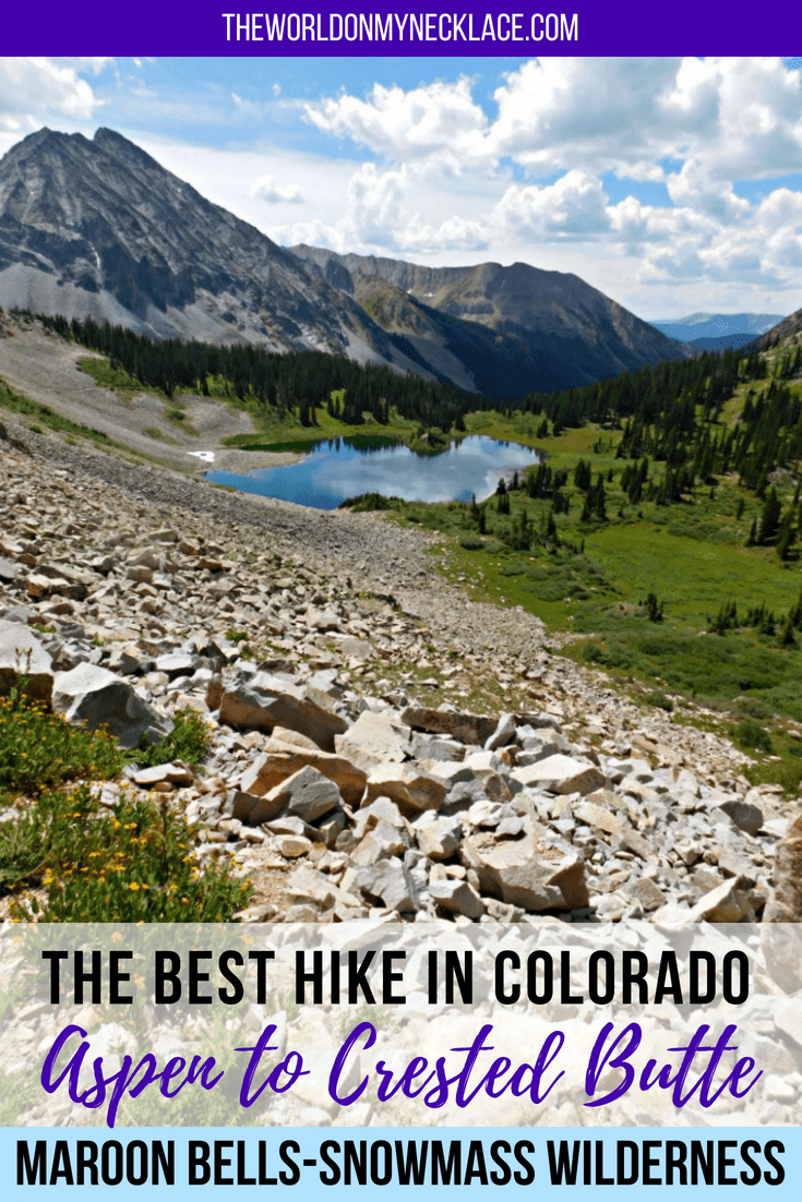 Aspen to Crested Butte Hike