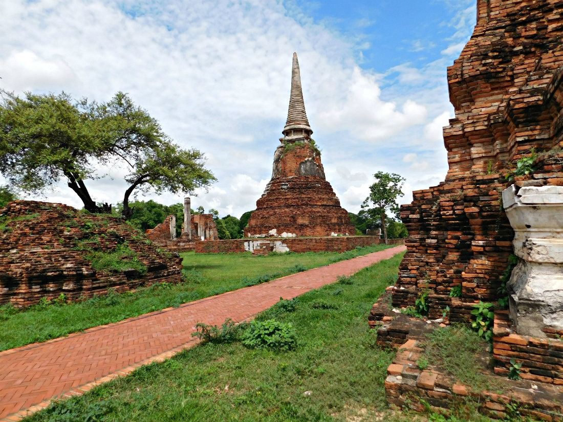 The Temples of Ayutthaya in Thailand