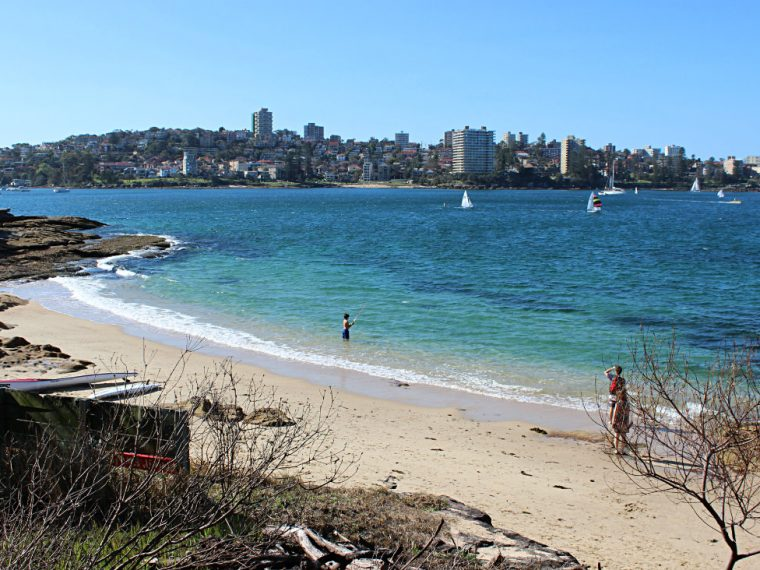 Forty Baskets Beach on the Spit to Manly walk