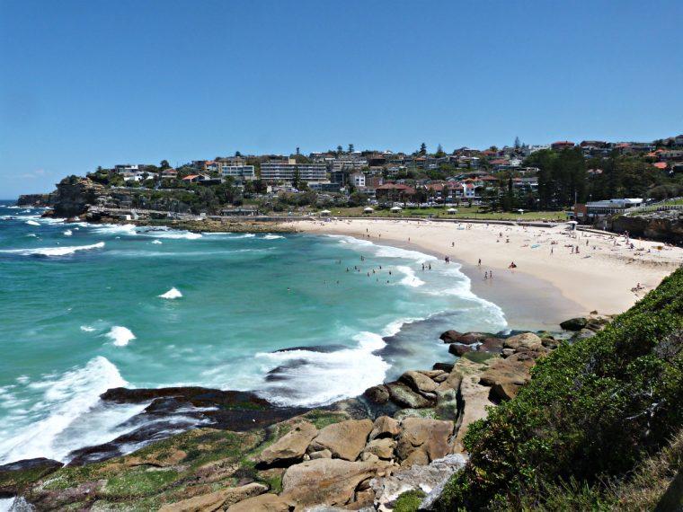 Bronte Beach in the eastern suburbs of Sydney