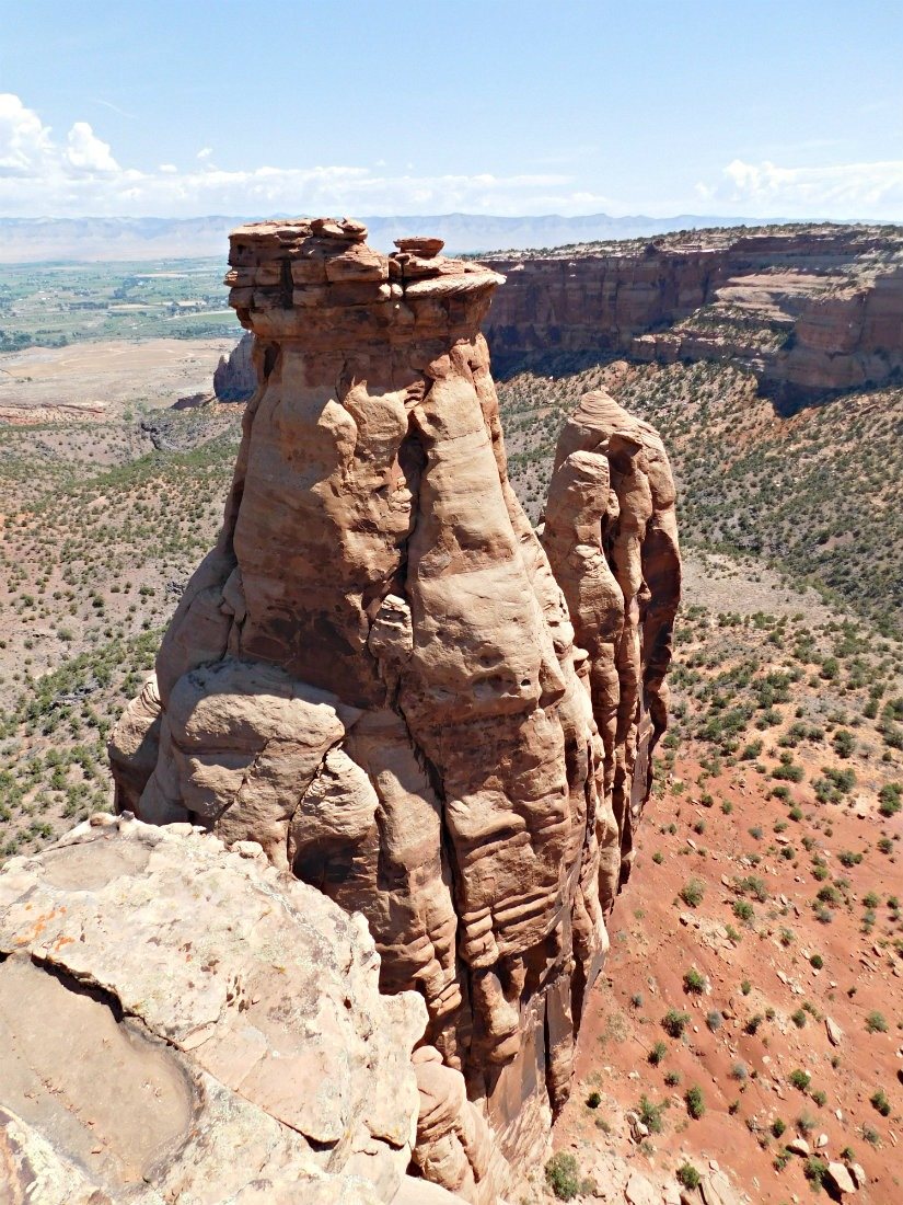 Rock formations at Colorado National Monument