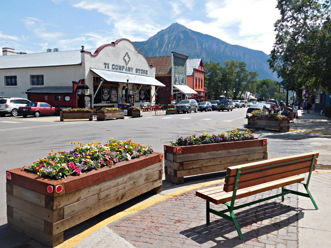 Downtown Crested Butte, one of the best mountain towns in Colorado