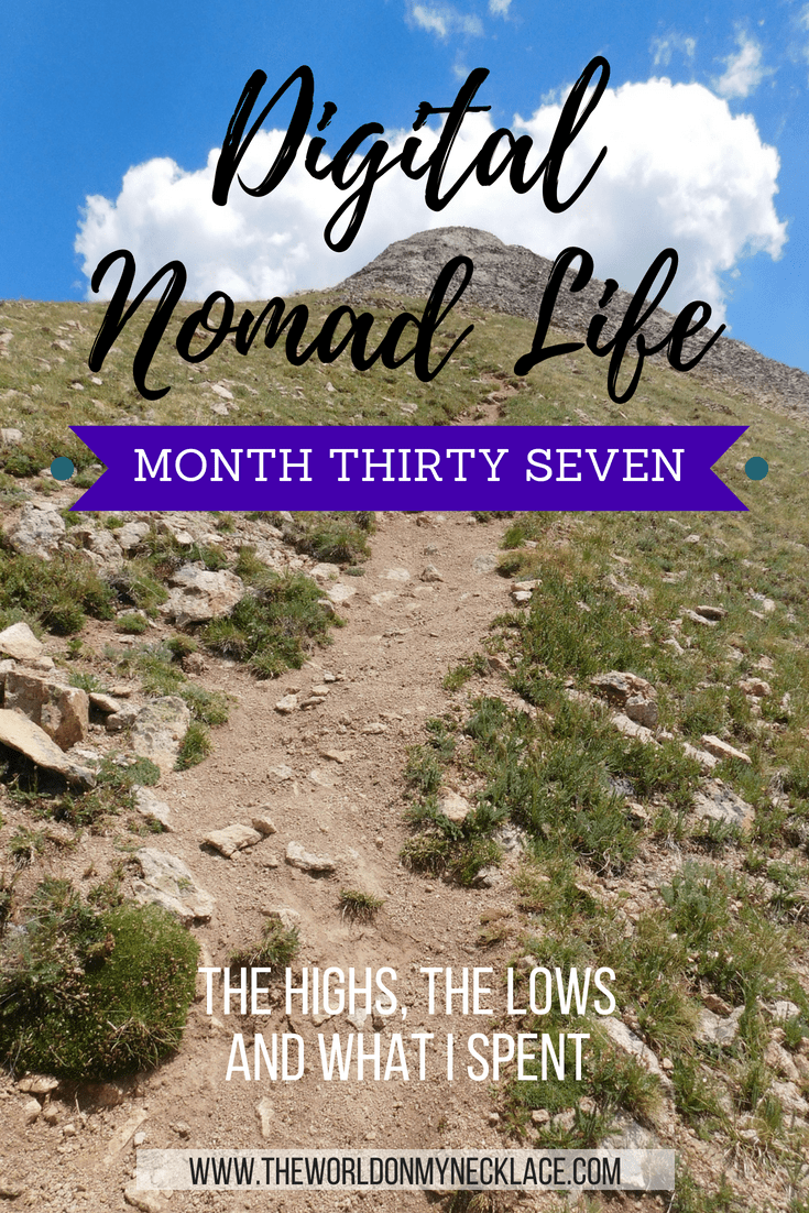 Digital Nomad Life: Month Thirty Seven