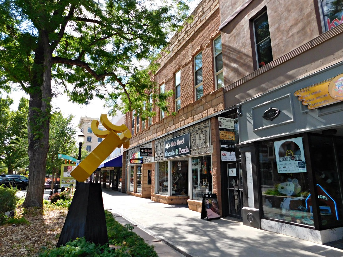 Visit Grand Junction as part of a Colorado road trip itinerary