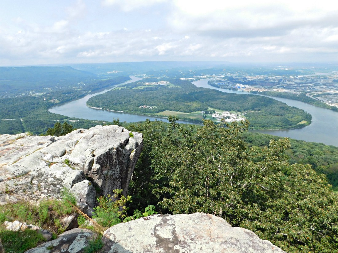 Hiking around Chttanooga during month thirty eight of Digital Nomad Life