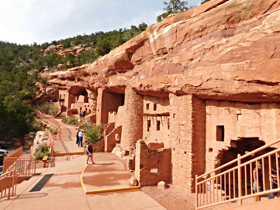 Visiting the Manitou Cliff Dwellings in Colorado during month thirty eight of Digital Nomad Life