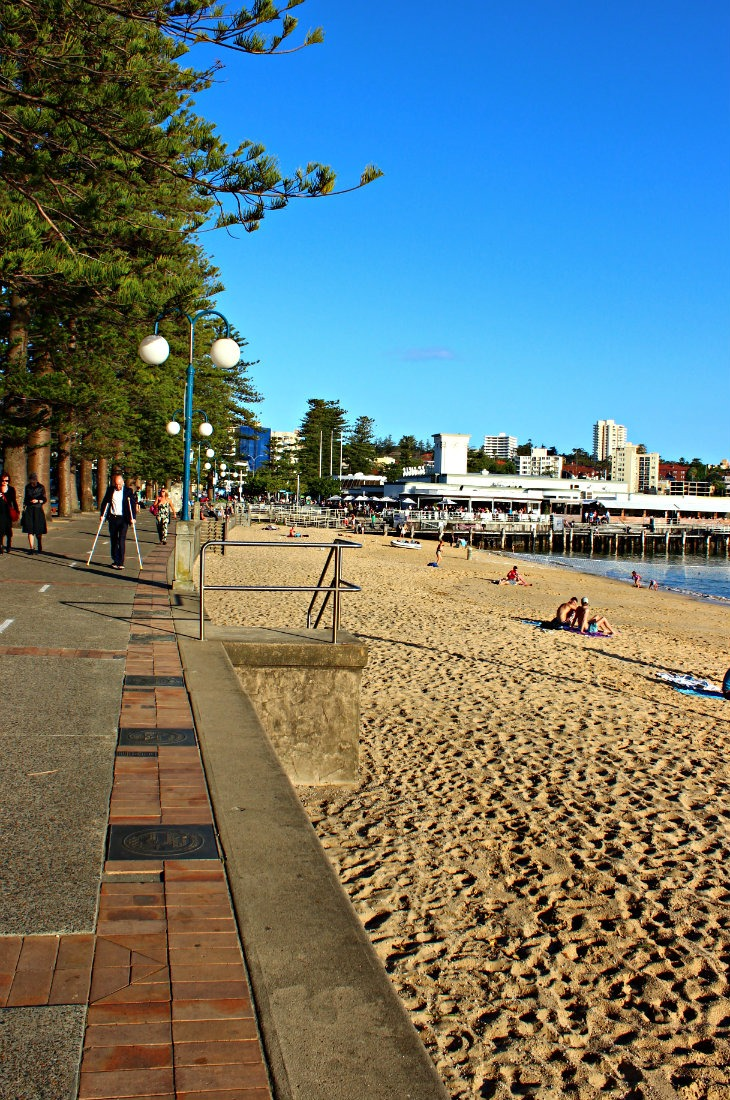 Manly is a beautiful seaside suburb of Sydney with a great beach
