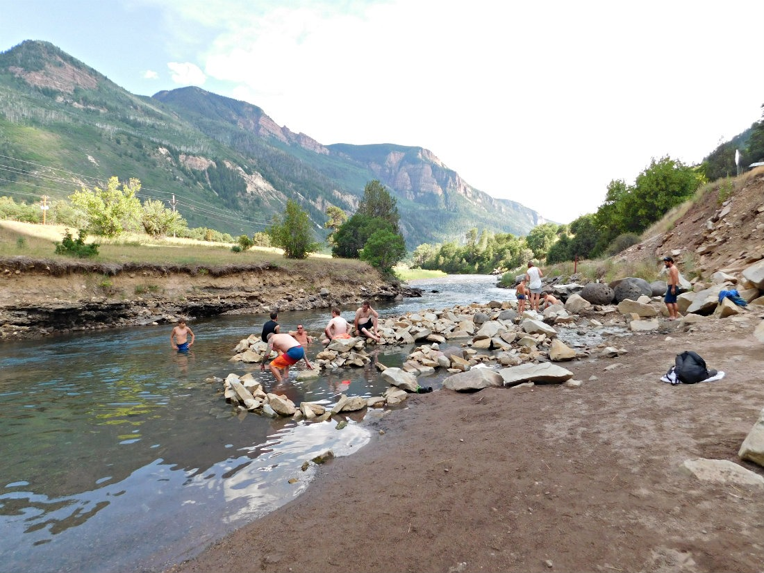 Visit Penny Hot Springs as part of a Colorado summer itinerary