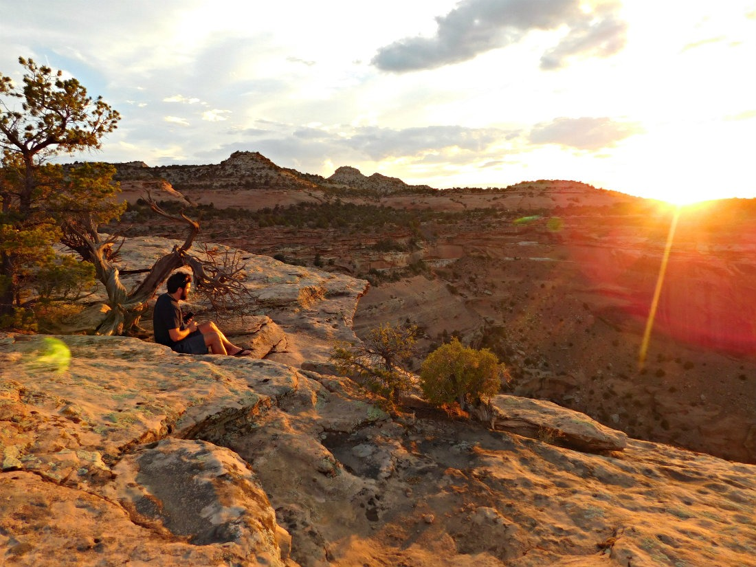 Camping in Colorado National Monument is part of my Colorado road trip itinerary