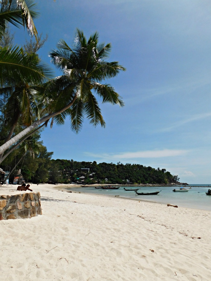 Thong Nai Pan Yai Beach on Koh Pha Ngan Beach in Thailand