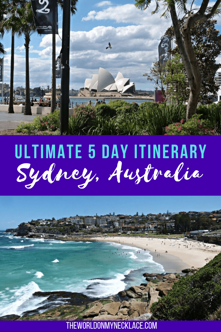 Sydney Itinerary: 5 Days in Australia's biggest city