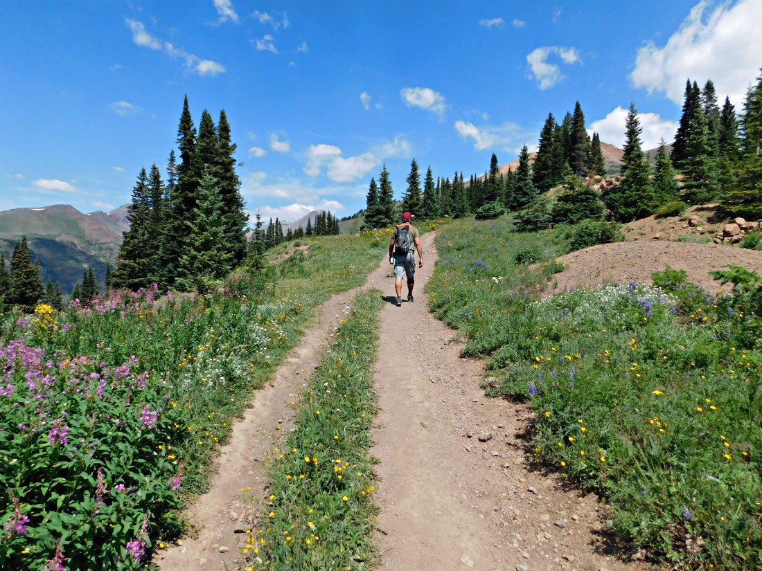Hiking around Crested Butte, Colorado