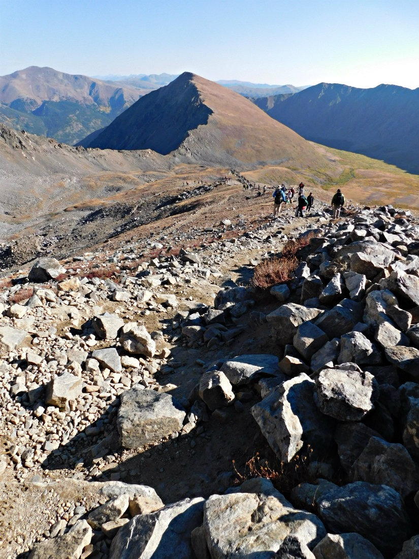 Hiking Torrey's and Gray's in Colorado - 2 14ers in one day