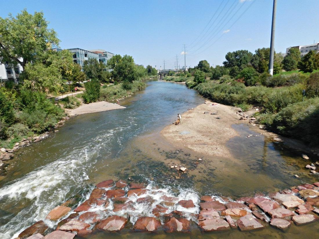 Platte River in Denver, Colorado