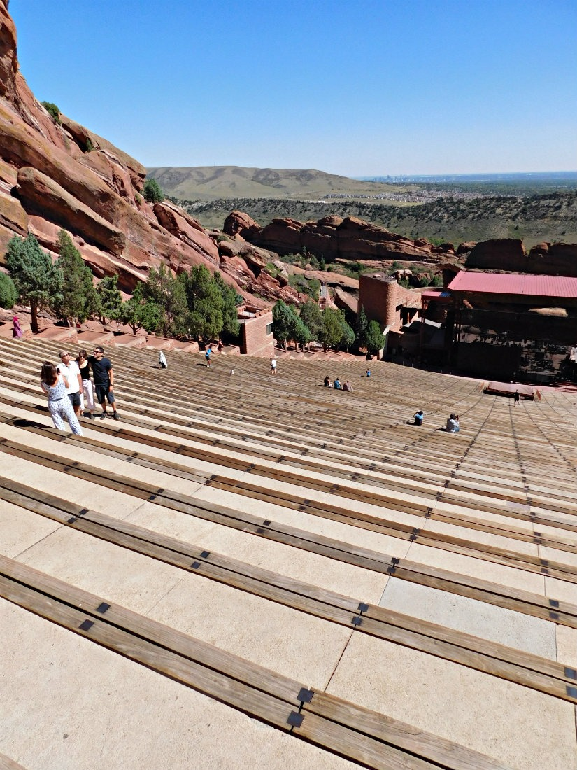 Red Rocks Amphitheatre in Denver, Colorado