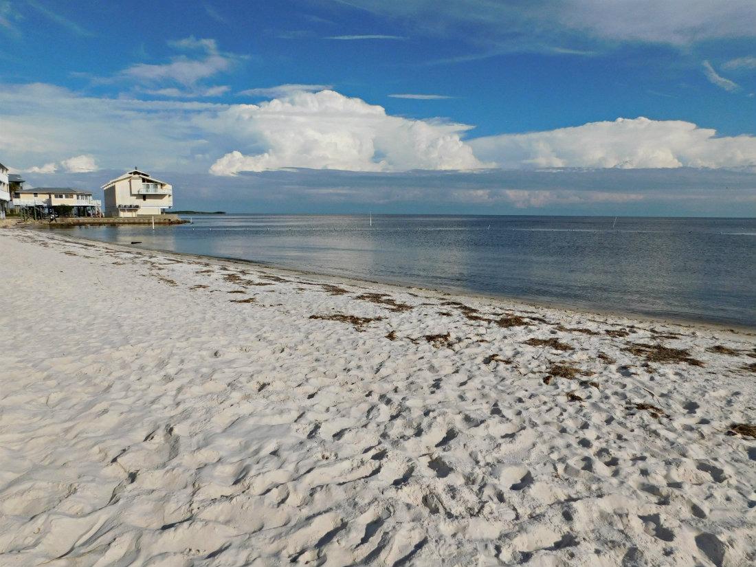 Cedar Key beach in North West Florida