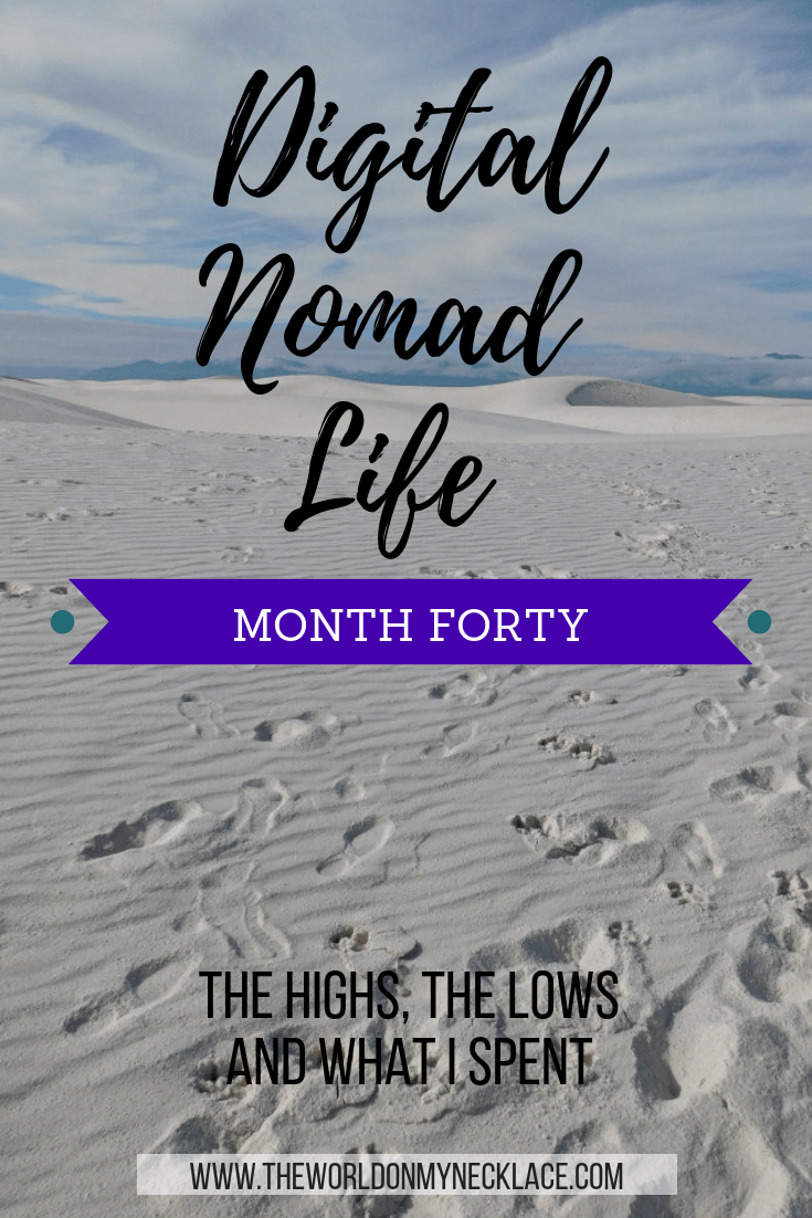 Digital Nomad Life Month Forty