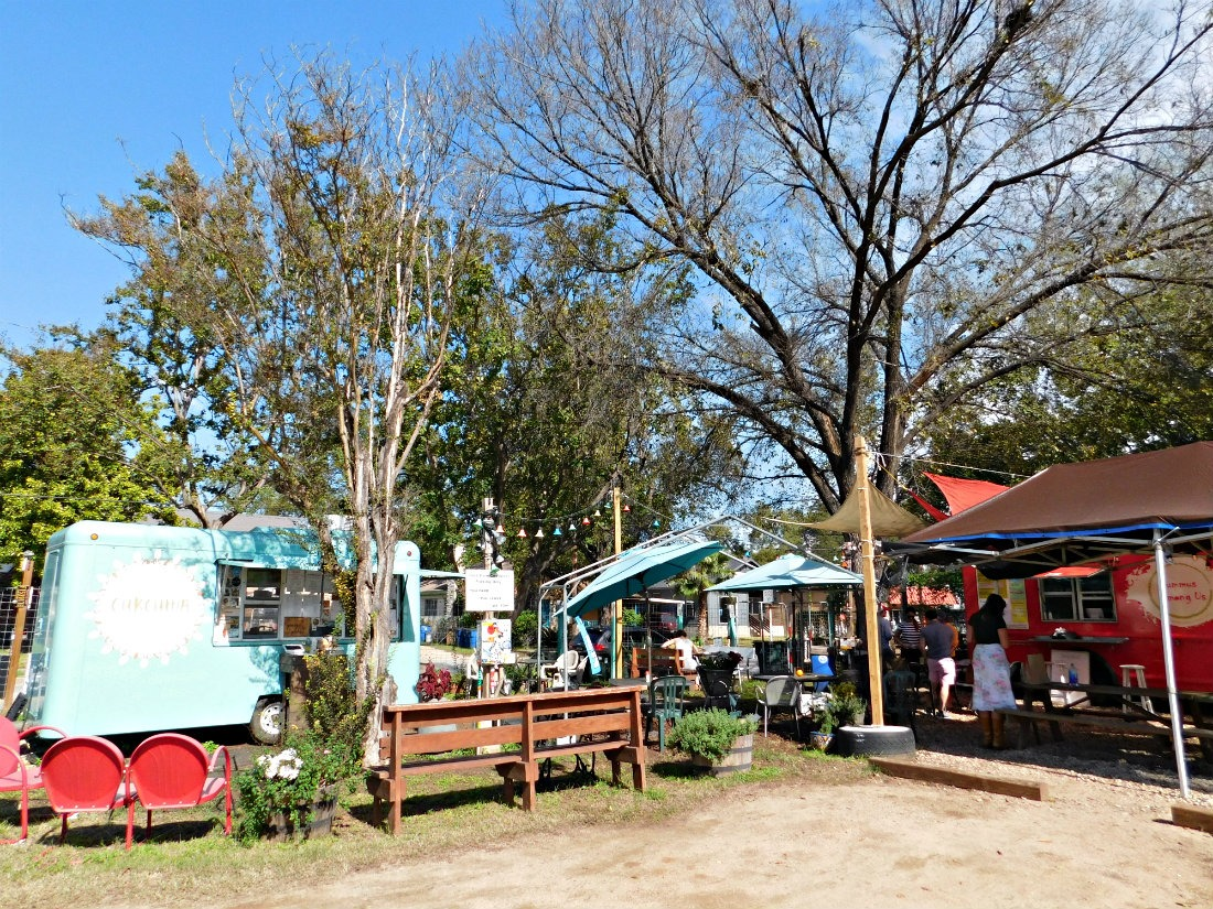 The Austin food truck scene is incredible - there are so many food truck parks