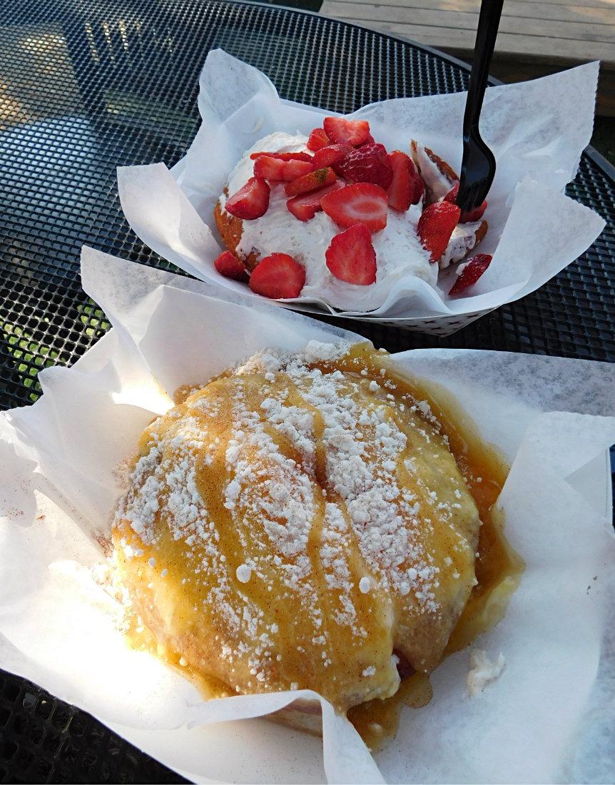 Amazing Gourdough's donuts in Austin, Texas